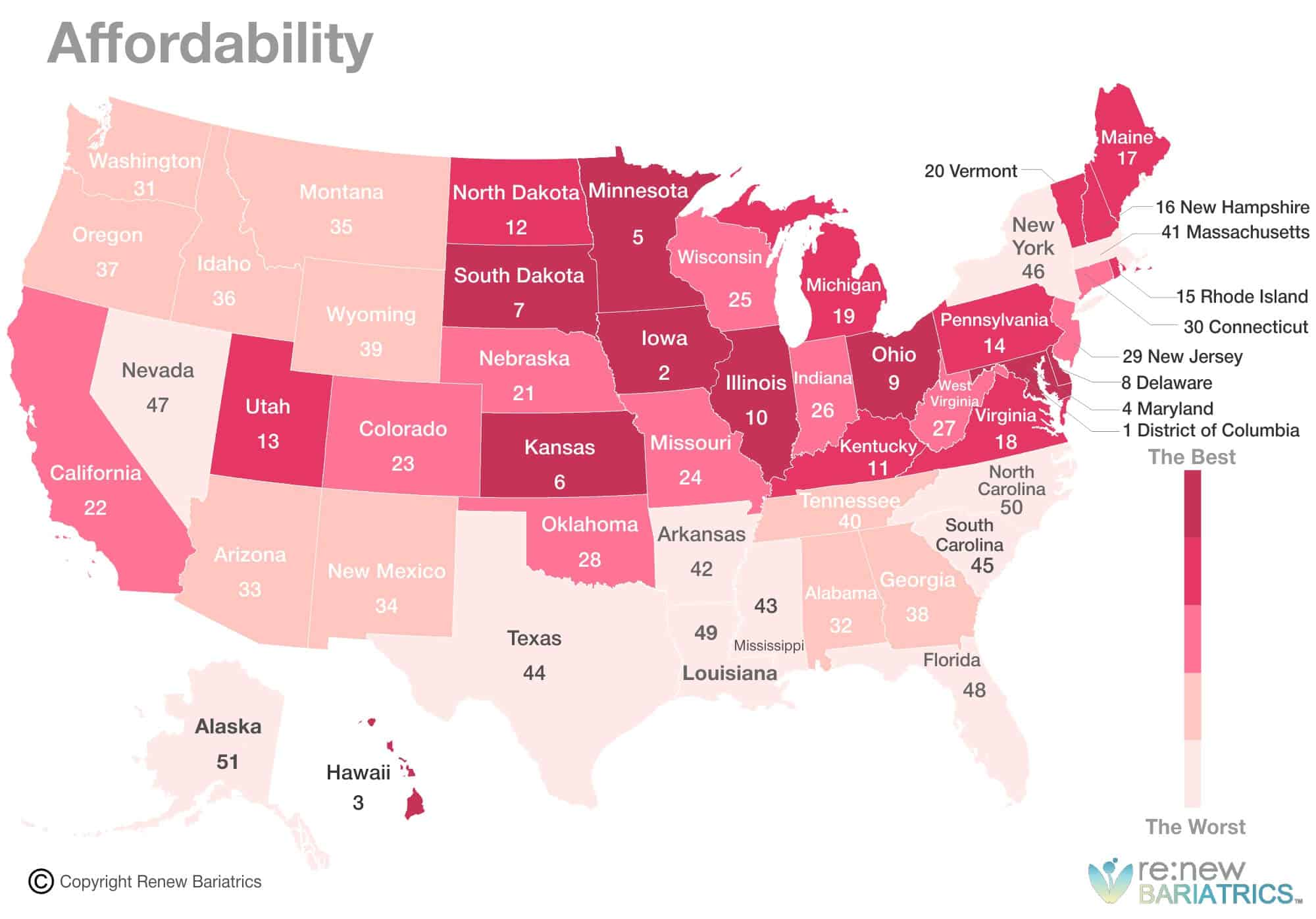 d6e5fa76975 Best & Worst States for Healthcare in 2018 | Ranking, Report Healthcare