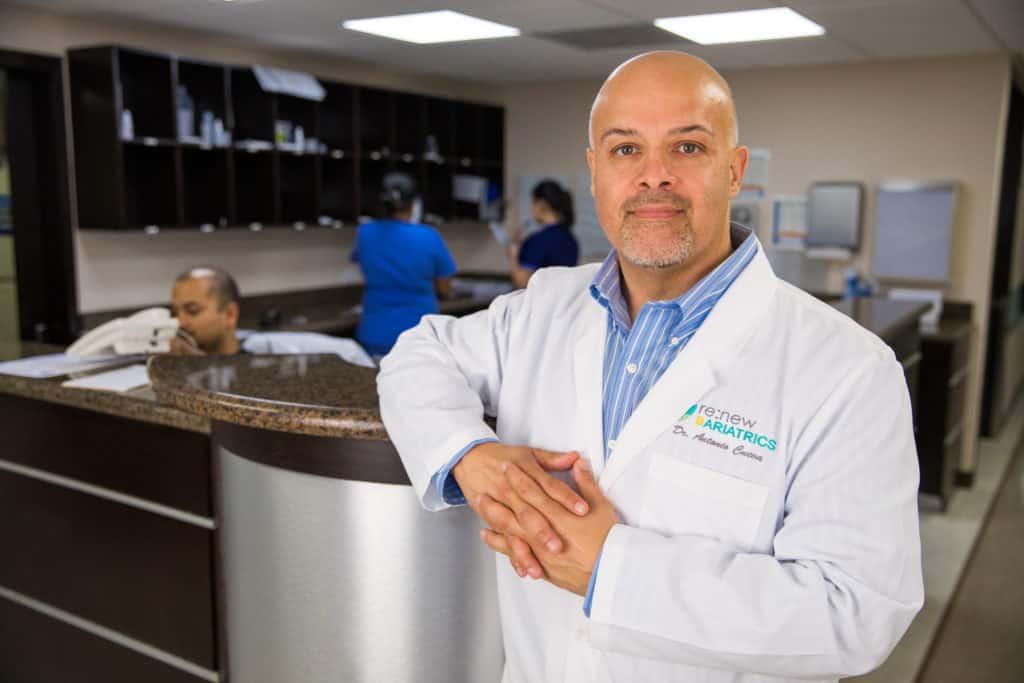 Dr. Antonio Cueva Nurses Station
