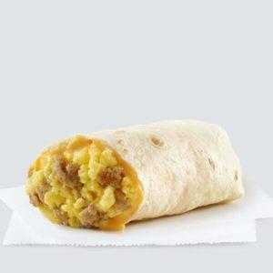 Sausage, Egg, Burrito
