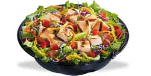 Grilled Chicken Green Salad